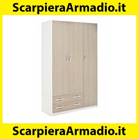 Scarpiera Armadio 2 Ante.Tutte Le Info Per L Acquisto Di Armadio 2 Ante Bianco Larice